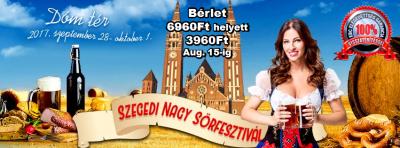 Szegedi Nagy Sörfesztivál 2017